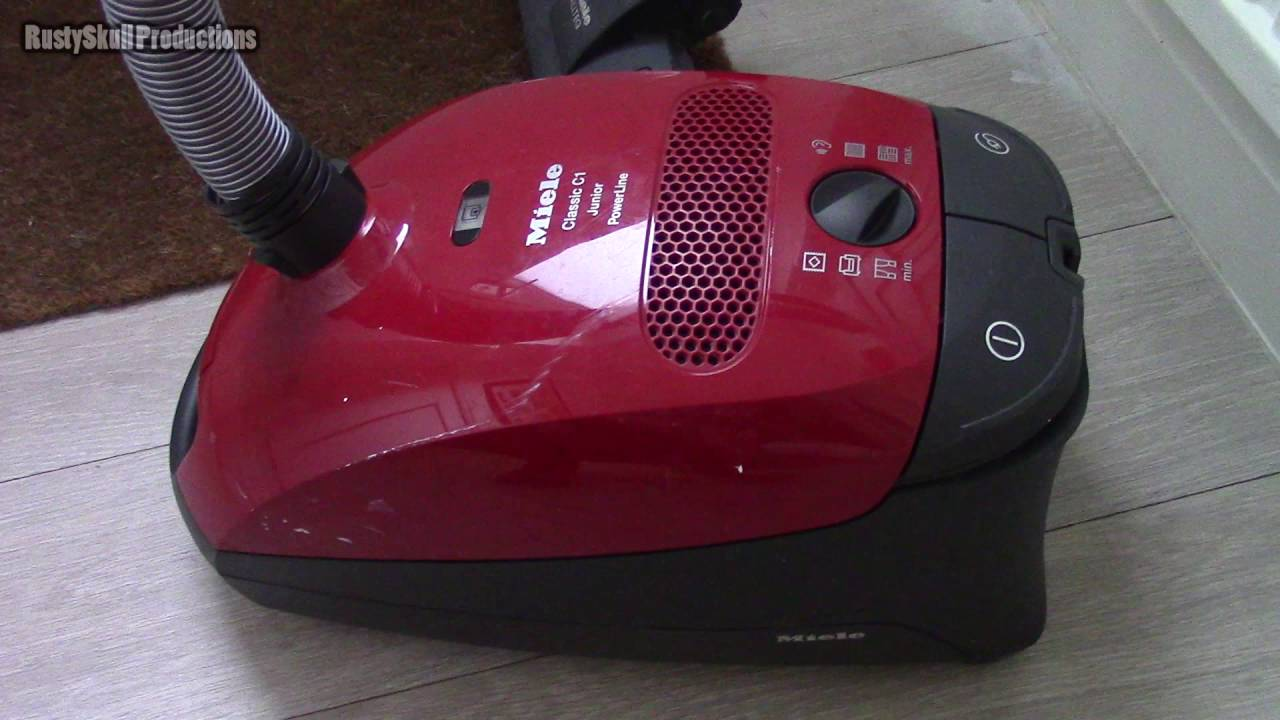 miele classic c1 junior powerline vacuum cleaner rustyskull productions youtube. Black Bedroom Furniture Sets. Home Design Ideas