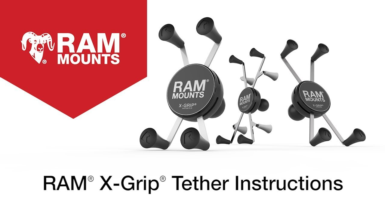 RAM® X-Grip® with RAM® Twist-Lock™ Suction Cup Mount for 7