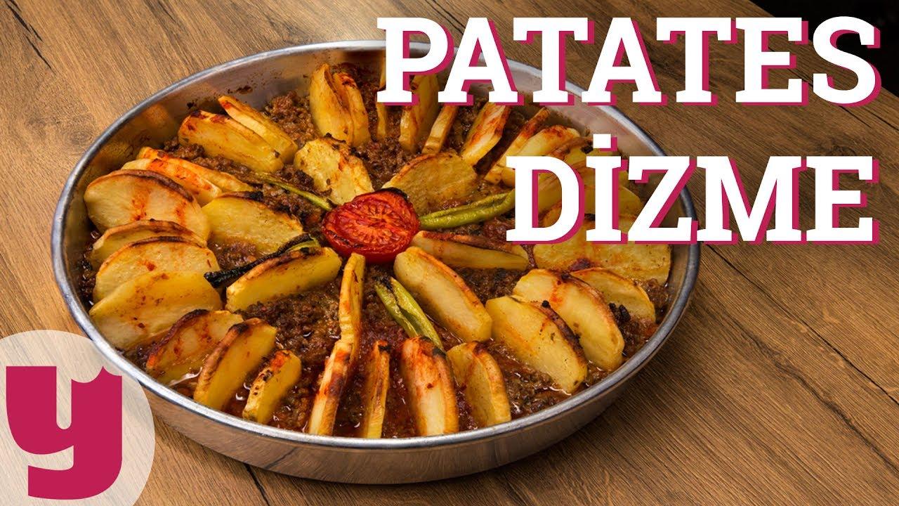 Fırında Patlıcan Patates Dizme Tarifi Videosu