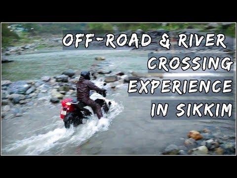 RIVER CROSSING IN SIKKIM || GANGTOK TO RISHI KHOLA || Bangla Vlog 🔥