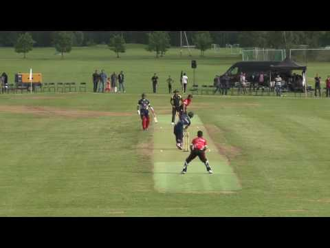 6,6,6,4  Misbah-ul-Haq Vs M Asif  ( Play For Peace Festival  Norway 2016 )
