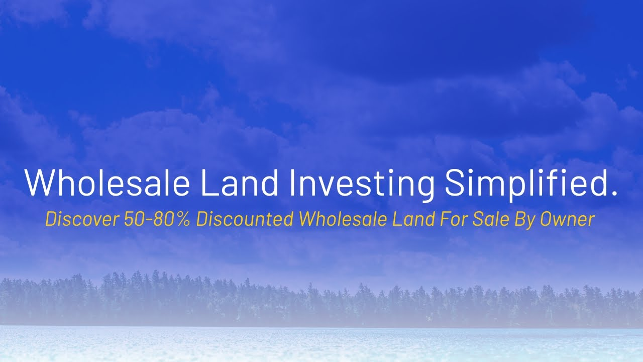 Discover 50-80% Discounted Wholesale Land For Sale By Owner - www.WeSellNewYorkLand.com
