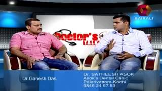 Dr Satheesh Asok talks about toothache, PT 2/3