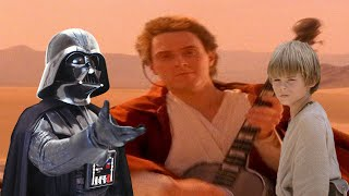 Gambar cover Weird Al Yankovic - The Saga Begins (With Clips from Star Wars)