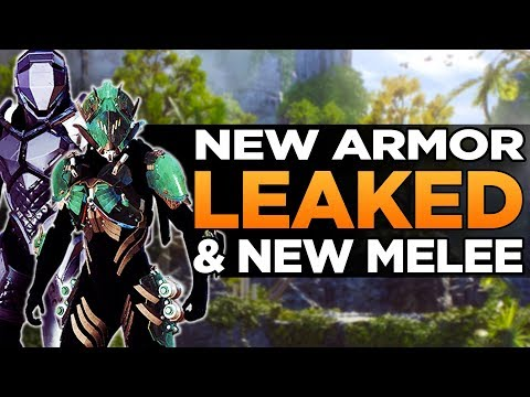 Anthem Leaks | New Armor & Melee Weapon Details