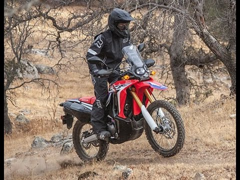 2017 Honda CRF250L Rally Revealed - YouTube