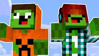 Vida de Mobs #03: COMO É A VIDA DE UM ZUMBI ?! - Minecraft