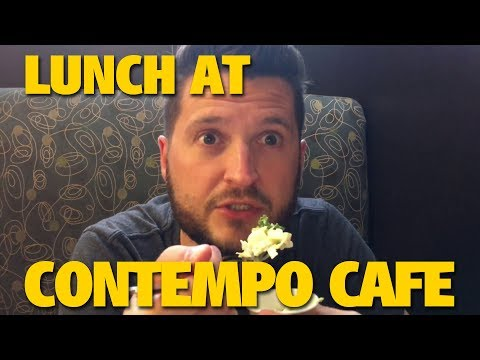 Lunch at Contempo Cafe at the Contemporary | Walt Disney World