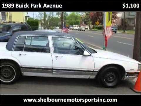 1989 buick park avenue used cars elizabeth nj youtube