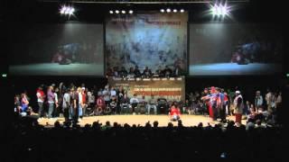 Top 9 (Russia) vs. Dynamic Rockers (USA) - BBoy Crew - UK BBoy Championships 2010