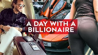 A day with a BILLIONAIRE! Join Rich Kids of Instagram