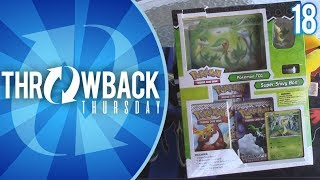 Opening a Snivy Box of Black and White Era Pokemon Cards!   Throwback Thursday #18