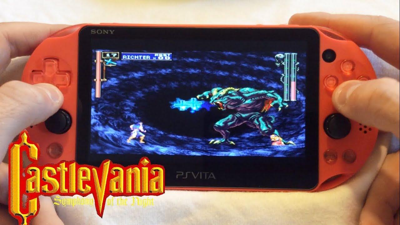 PSVita: Castlevania: Symphony of the Night PS1 Classic