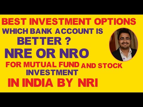 Nre Account And Nro Account Benefits Hindi|mutual Fund Investment For Nri In India|0%tax On Interest