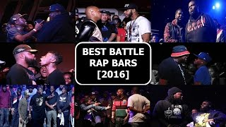 Best Battle Rap Bars 2016