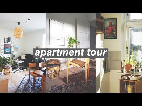 MY ZERO WASTE HOME TOUR // second furniture, indoor compost & homemade decor