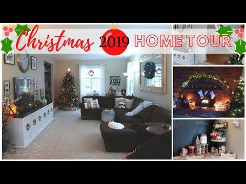 CHRISTMAS HOME TOUR 2019 *NEW* | CHRISTMAS HOME DECOR | DIY CHRISTMAS DECORATIONS
