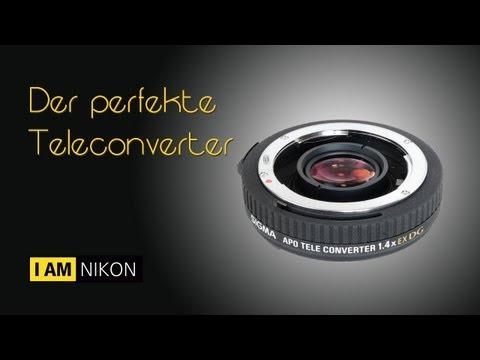 Der perfekte Teleconverter - Full HD 1080p - Sigma APO 1.4x EX DG & Nikon D800E
