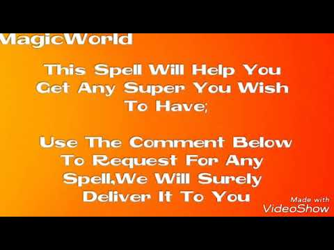 Get Any Super Power You Want (Spell) - Magic World