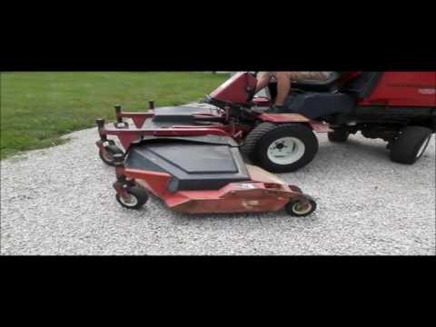 2003 Toro Groundsmaster 455D lawn mower for sale | no-reserve Internet  auction August 3, 2016