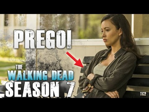 The Walking Dead Season 7 Episode 12 - Christian Serratos Pregnant! Rositas Future