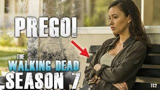 The Walking Dead Season 7 Episode 12 - Christian Serratos Pregnant!  Rosita's Future?