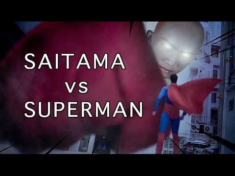 Superman v One Punch Man