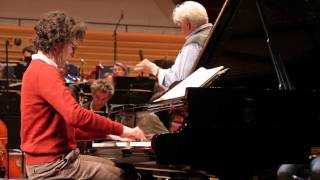 Beethoven - Concerto pour piano n°3 - Martin Helmchen / Christoph von Dohnányi (répétition)