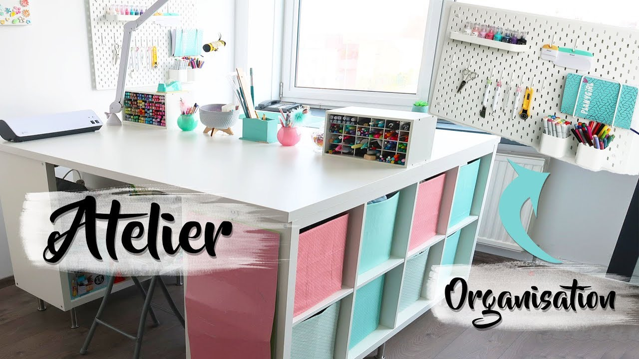 Ikea Amenagement Petit Espace ikea - comment cr�er un coin atelier ? scraproom - ikea hacks