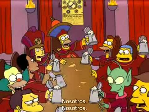 The Simpsons Stonecutters Song subtitulado. - YouTube