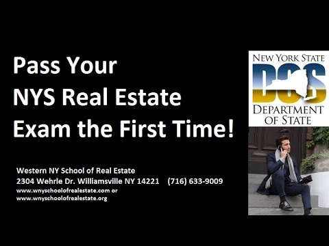 Pass Your NYS Real Estate Exam the First Time!