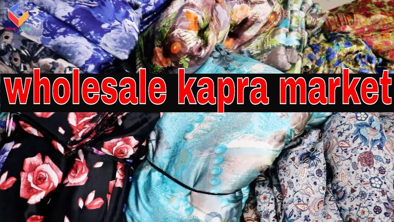 Japan Satin Mill Printed Fabrics | Surat wholesale kapra Market