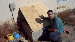 House Skirt and Crawl Space Door