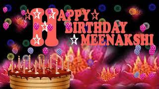 MEENAKSHI HAPPY BIRTHDAY TO YOU86N