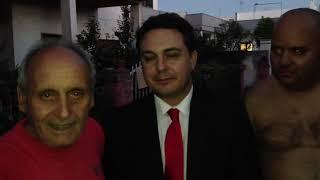 Andrea Diprè incontra il padre di Giuseppe Simone - CLAMOROSO!!