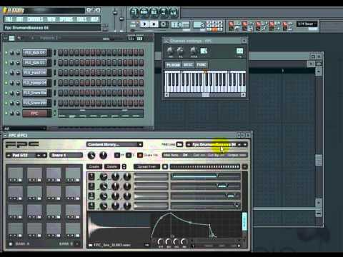 FL Studio Tutorial - Beginners, How to Use FPC Drum Kits for Beats by VscorpianC