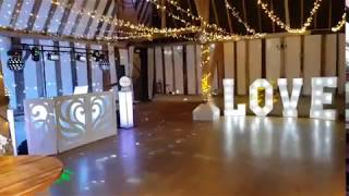 wedding disco at the Clock barn Whitchurch