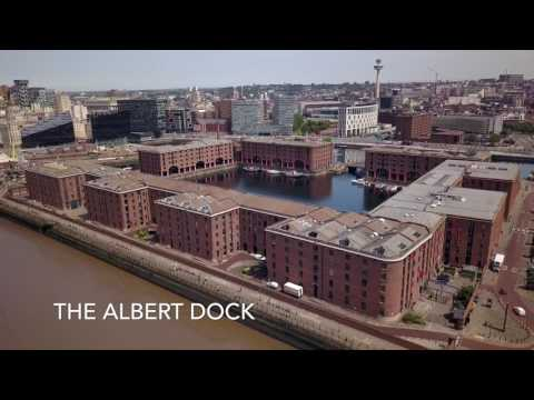 Liverpool Waterfront 4K | Liver Birds, Albert Dock, Anglican Cathedral, Three Graces etc.