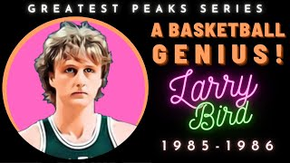 The unique skills that made Larry Bird a GOAT candidate | Greatest Peaks Ep. 4