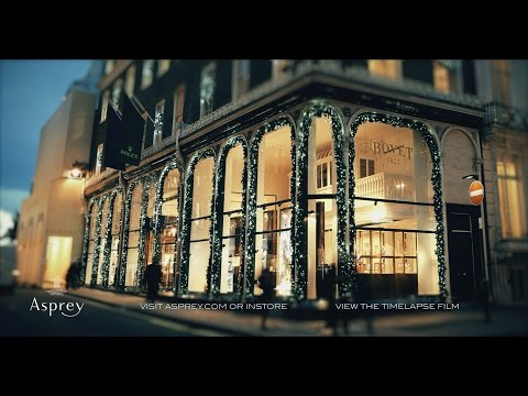 "Asprey- ""There is Always Time""  167 New Bond Street Mayfair London"