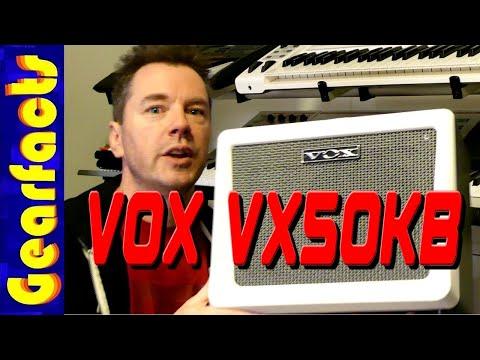 The superbly-designed VOX VX50KB KEYBOARD AMP. Nice!