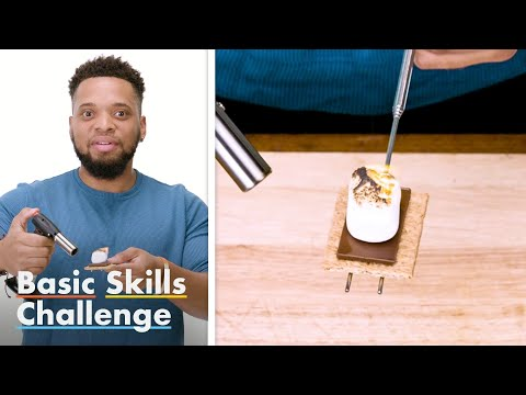 50 People Try To Make S'mores | Epicurious