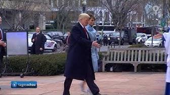 Trump: Vereidigung als neuer US-Präsident