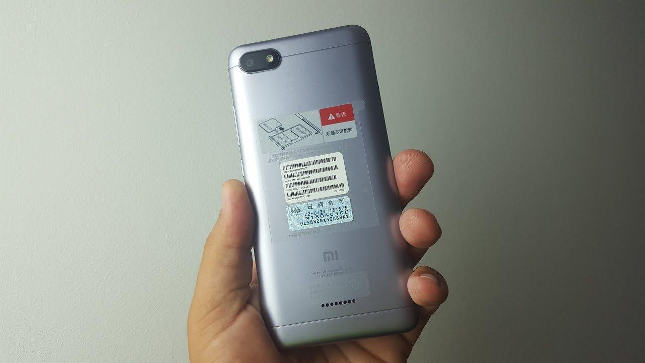 50cffa27eb077 Xiaomi Redmi 6A ▻ СЯОМИ, вы ЧЁ творите?! - YouTube