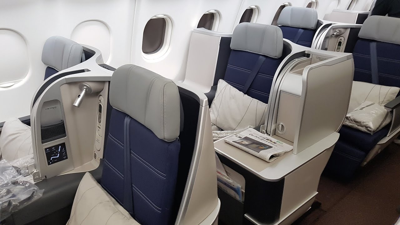 Malaysia Airlines New Business Class A330 Youtube