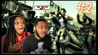 CAN WE DO THIS?!? | Resident Evil 5 Co-op w/ @Dwayne Kyng | Part 2!!!