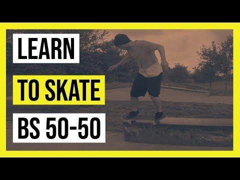 How to backside 50-50 | Learn to skate | Skateboard tricks