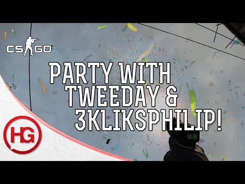 CS:GO Matchmaking - Party Time w/ Tweeday & 3kliksphilip! - Episode 31