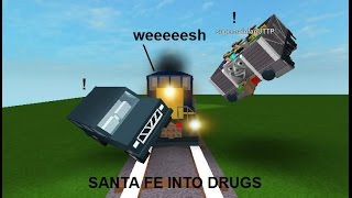 ROBLOX: Train Goes Crazy