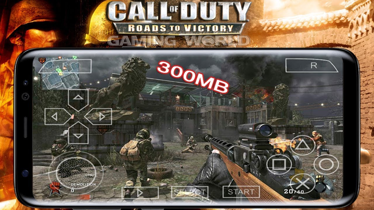 download call of duty roads to victory psp / ppsspp iso high compressed